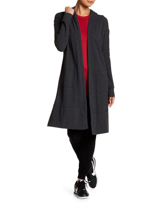 Marc New York | Multicolor Long Sleeve Hooded Duster | Lyst