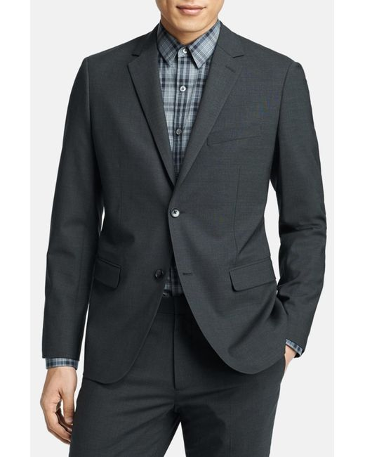 Theory - Gray 'wellar New Tailor' Trim Fit Wool Blend Sport Coat for Men - Lyst