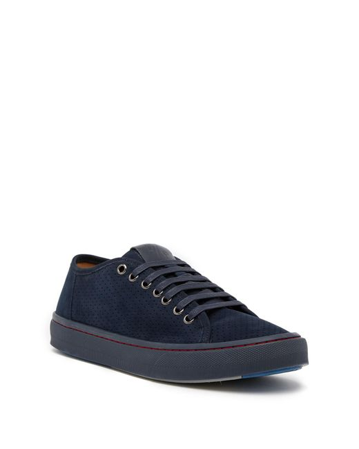 Donald J Pliner - Blue Dan Perforated Sneaker for Men - Lyst