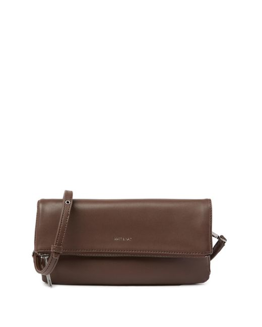 Matt & Nat - Multicolor Alaya Foldover Vegan Leather Crossbody Clutch Bag - Lyst