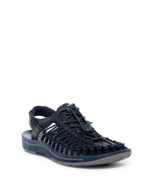 Keen | Blue Uneek Leather Slingback Sandal | Lyst