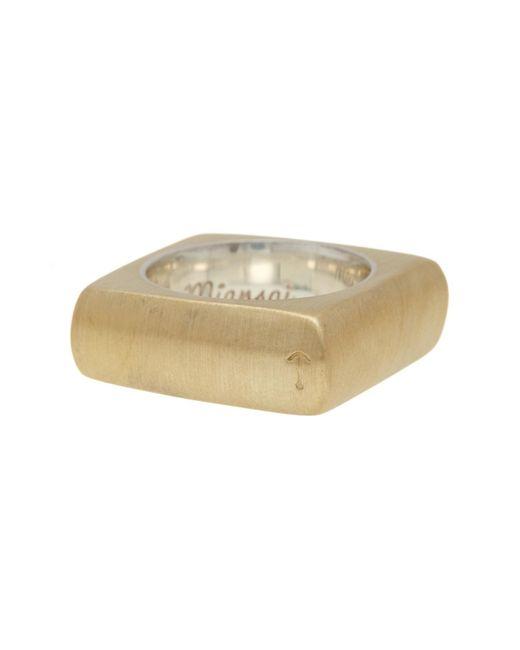 Miansai | Multicolor Square Ring - Size 7 for Men | Lyst