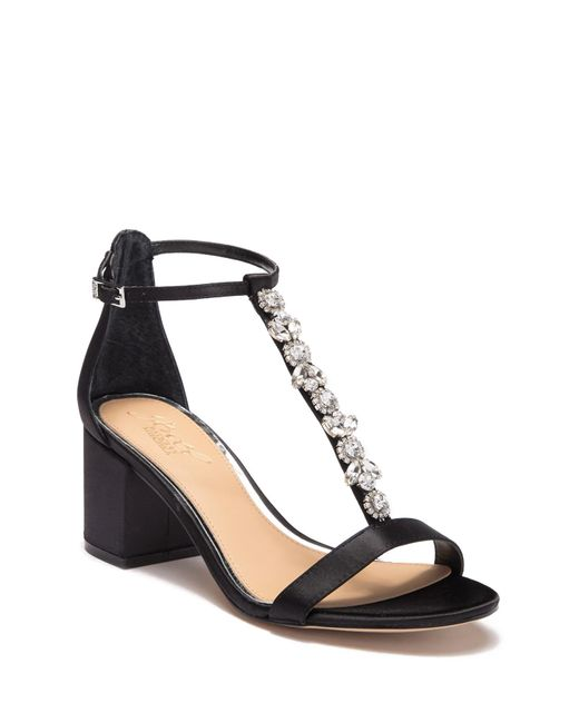 Badgley Mischka - Multicolor Gretchen Crystal Embellished Sandal - Lyst