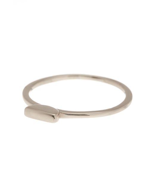 Argento Vivo - Metallic Small Bar Ring - Lyst