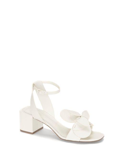 MERCEDES CASTILLO - White Tealia Sculpted Floral Sandal - Lyst
