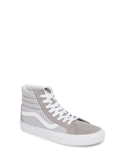 Vans - White 'sk8-hi Reissue' Sneaker (women) - Lyst