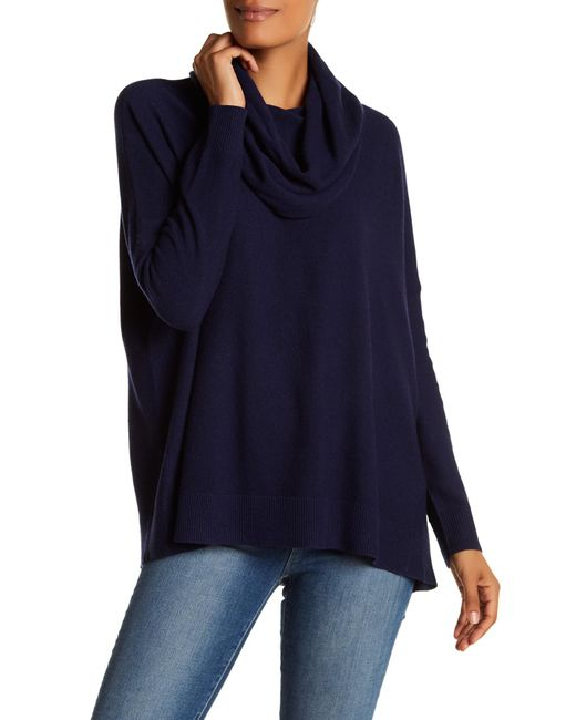 Joie | Blue Melantha Loose Cowl Neck Sweater | Lyst
