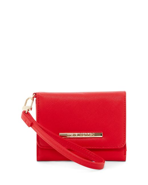 Steve Madden | Red French Wallet | Lyst
