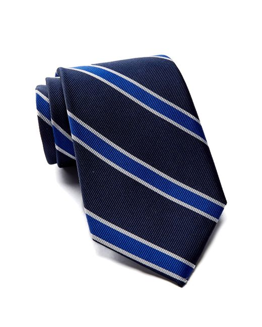Tommy Hilfiger - Blue Silk Vintage Stripe Tie for Men - Lyst