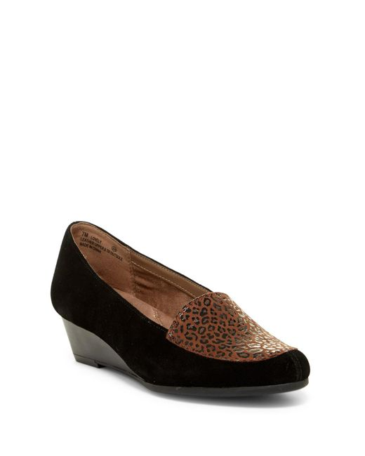 Aerosoles | Brown Lovely Wedge Flat | Lyst