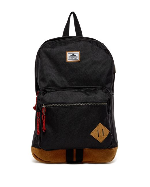Steve Madden | Black Solid Classic Sport Backpack | Lyst
