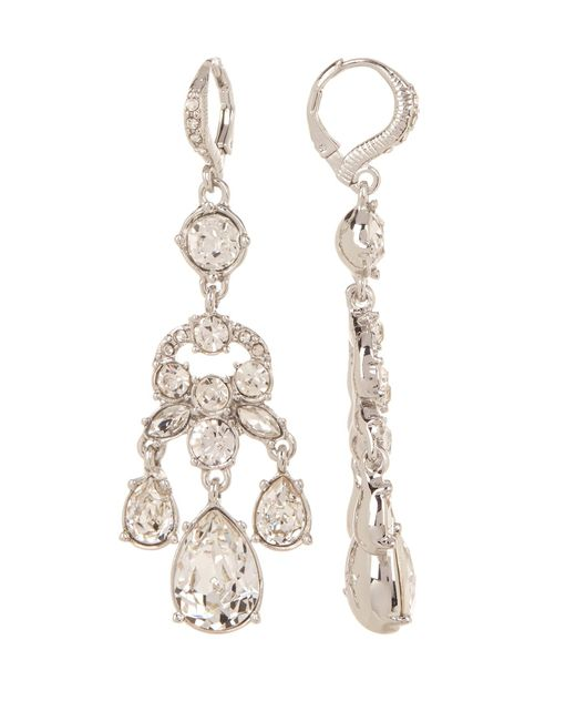 Givenchy - Multicolor Crystal Chandelier Earrings - Lyst