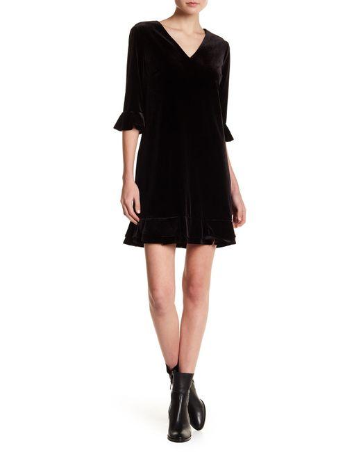 Cece by Cynthia Steffe - Black Kate Ruffle Dress - Lyst