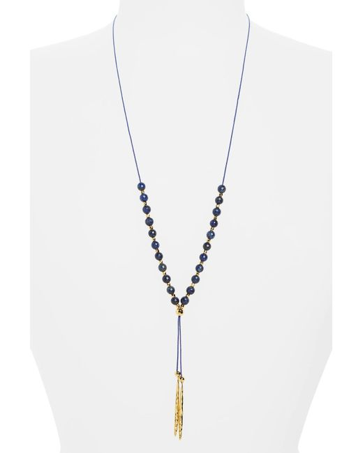 Gorjana - Metallic Convertible Necklace - Lyst