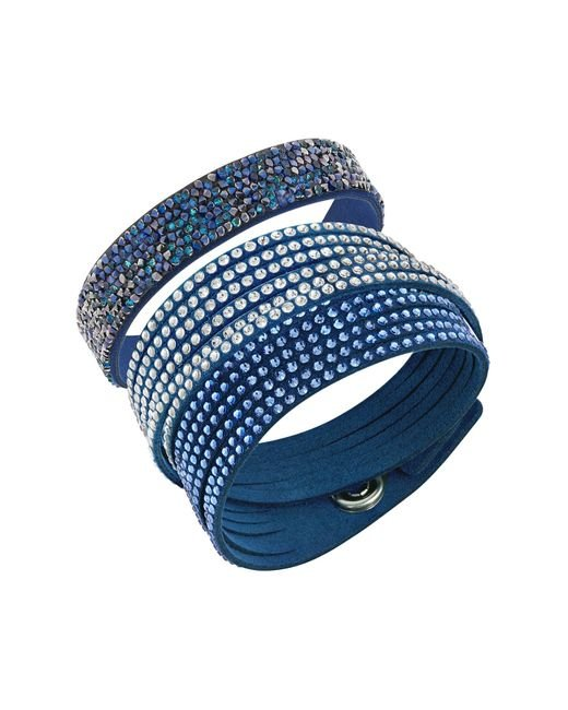 Swarovski | Blue Leisure Bracelet Set | Lyst