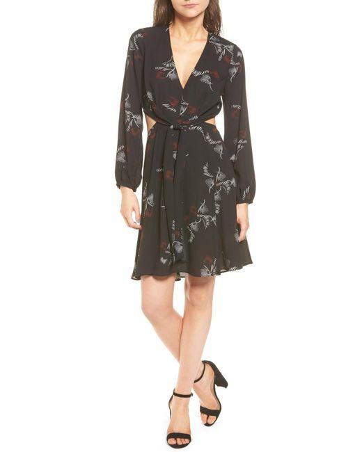 Trouvé | Black Cutout A-line Dress | Lyst