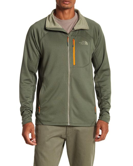 The North Face - Green Fuse Fleece Lined Jacket for Men - Lyst
