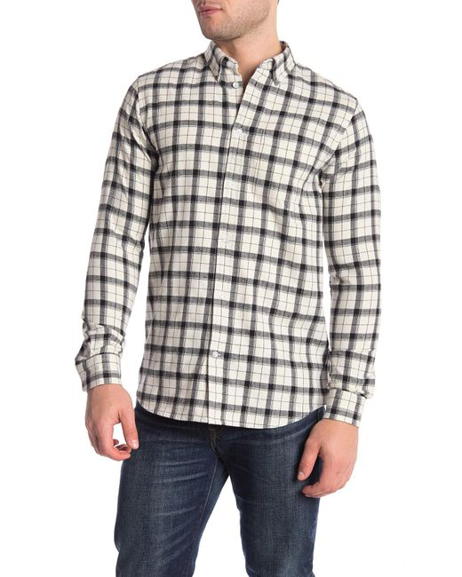 a4d100251a8 Wesc - Multicolor Plaid Flannel Regular Fit Shirt for Men - Lyst ...