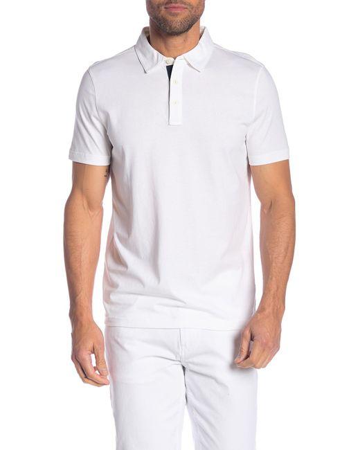 5838b269 Michael Kors - White Camo Placket Polo Shirt for Men - Lyst ...