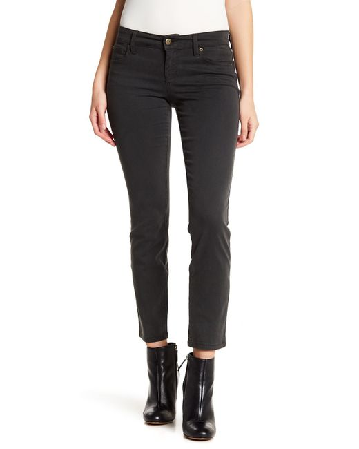 Level 99 - Black Lily Skinny Straight Leg Jeans - Lyst