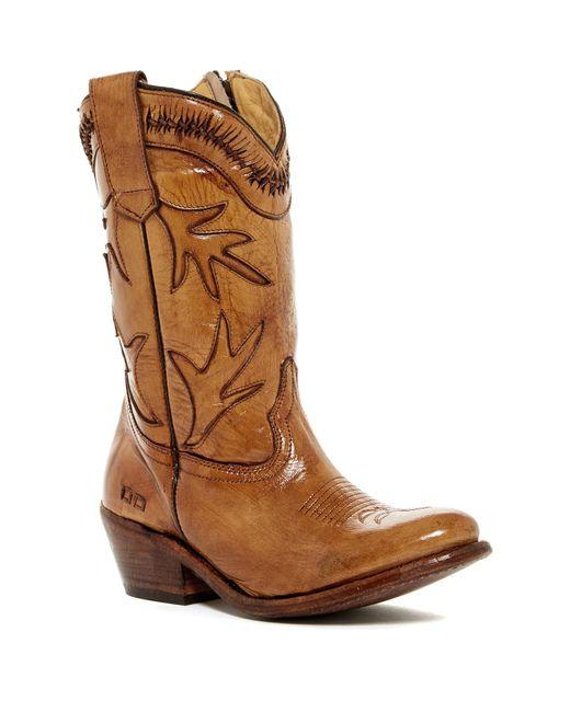 Bed Stu | Brown Lancy Western Boot | Lyst
