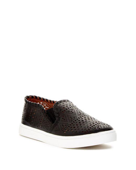Report | Black Abena Perforated Slip-on Sneaker for Men | Lyst