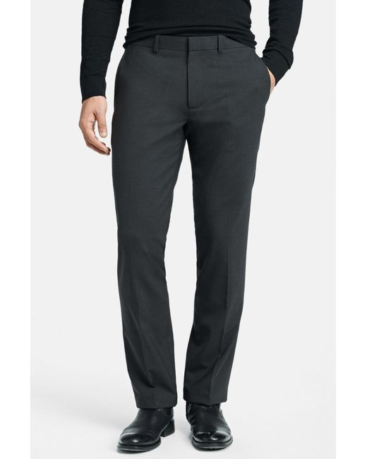 Theory - Gray 'marlo New Tailor' Slim Fit Pants for Men - Lyst