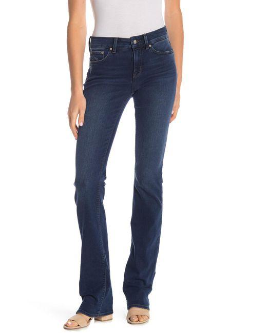 NYDJ - Blue Billie Mini Bootcut Jeans - Lyst