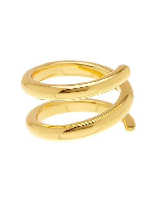 Gorjana | Metallic Cayne Wrap Ring - Size 7 | Lyst