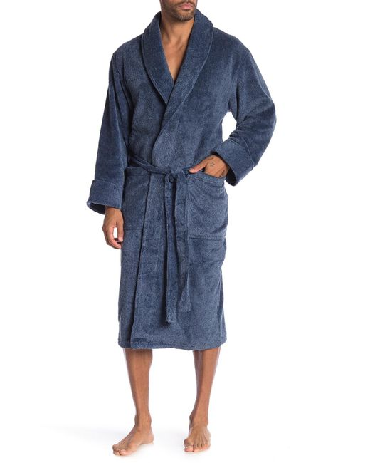 Daniel Buchler - Blue Heather Soft Robe for Men - Lyst