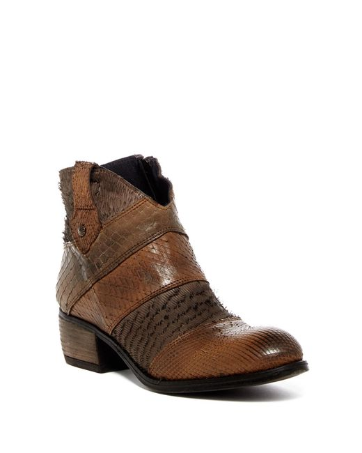 Sheridan Mia - Brown Misha Textured Boot for Men - Lyst