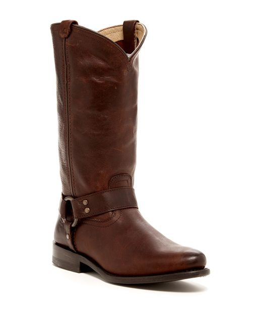 Frye | Brown Billy Boots | Lyst