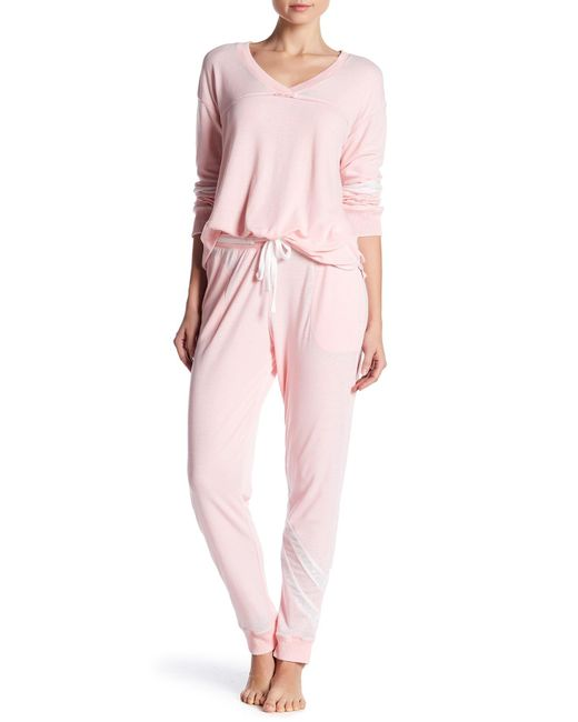 Kensie | Pink Jogger Pant | Lyst