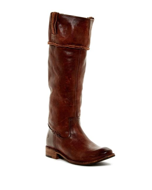 Frye | Brown Shirley Tall Boot | Lyst