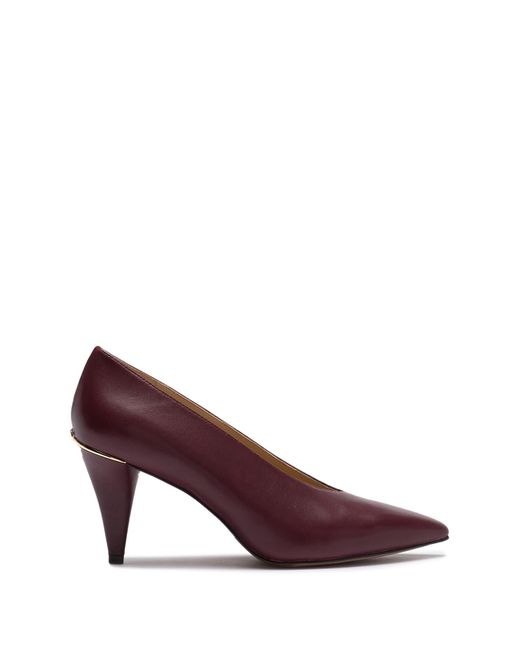 e9fd38327498 Lyst - MICHAEL Michael Kors Lizzy Pointed Toe Pump in Brown - Save 33%