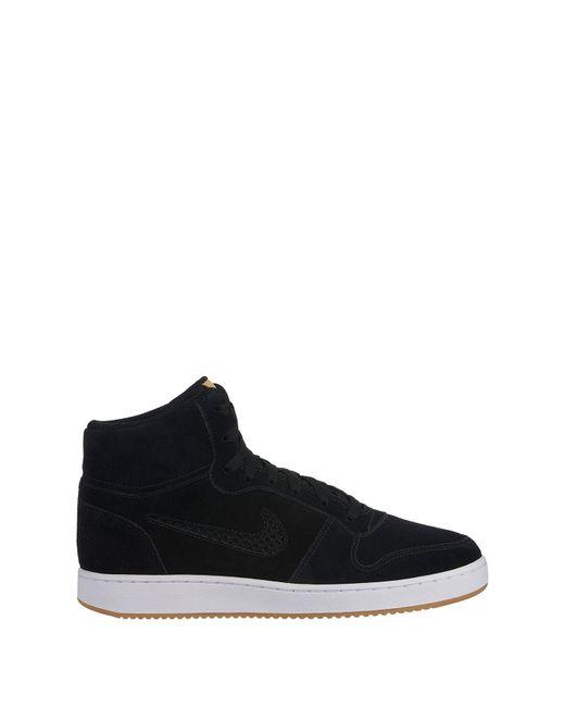 3c1f024618 Nike - Black Ebernon High Top Sneaker for Men - Lyst ...