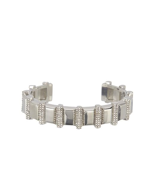 Vince Camuto - Metallic Crystal Pave Cuff - Lyst