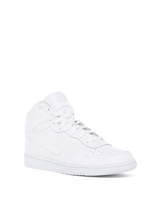 Nike | White Big High Top Sneaker for Men | Lyst