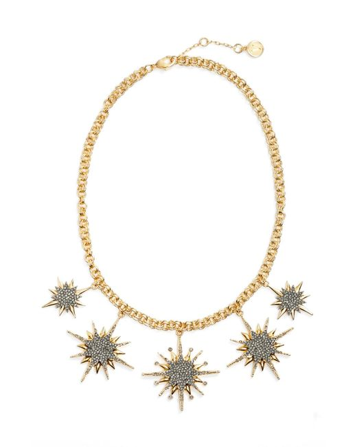 Vince Camuto - Metallic Crystal Star Necklace - Lyst