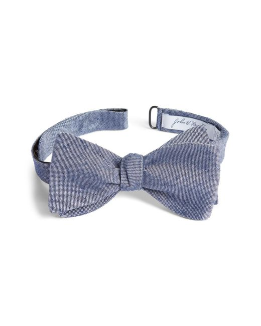 John W. Nordstrom - Blue (r) Solid Silk Bow Tie for Men - Lyst