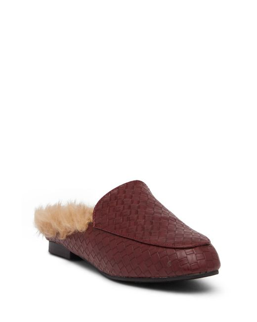 Fur Lines Slip On Shoes For Women