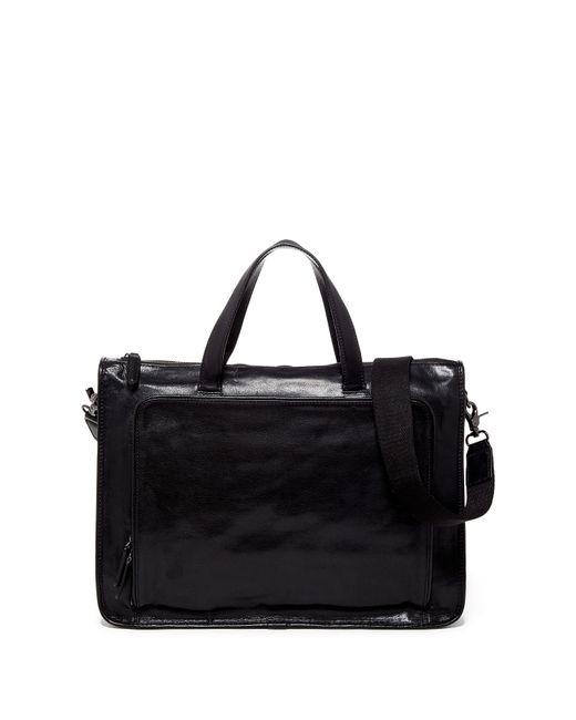 Frye - Black Stanton Leather Work Bag - Lyst