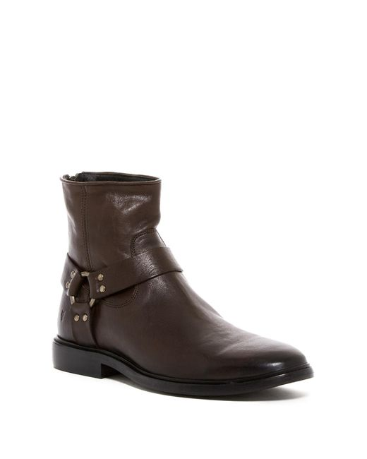 Frye   Brown Patrick Harness Boot for Men   Lyst
