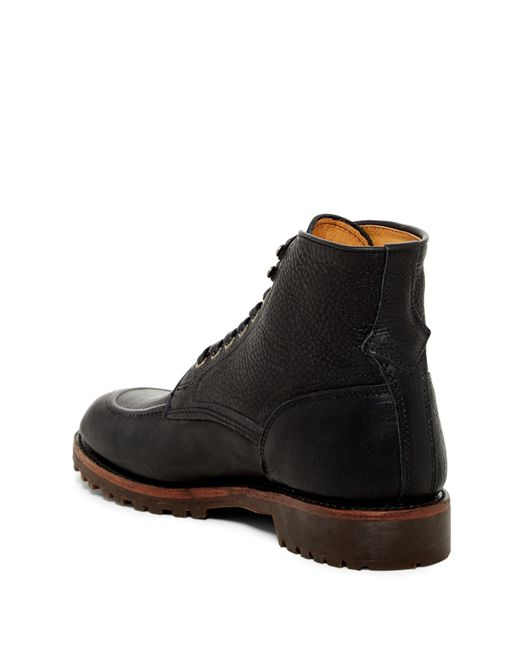 Frye Walter Country Lace Up Boot In Black For Men Lyst