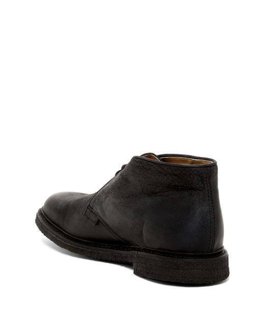 Frye James Crepe Chukka Boot In Black For Men Lyst