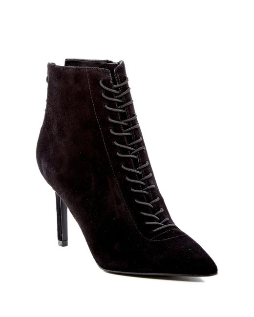 Kendall + Kylie - Black Liza Pointed Toe Boot - Lyst