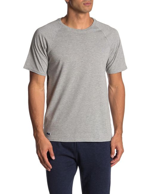 4c7ca1f3c0d7 Lacoste - Gray Sport Knit Tee for Men - Lyst ...
