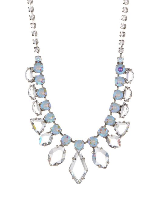 Sorrelli | Multicolor Modern Heirloom Crystal Necklace | Lyst