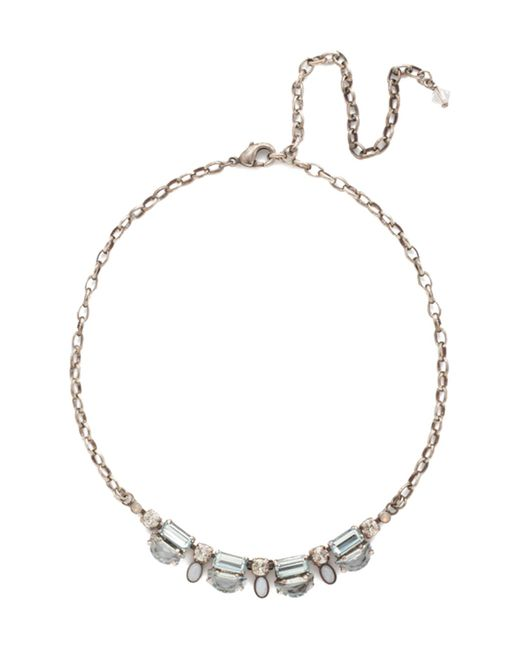 Sorrelli - Blue Petite Designed Details Necklace - Lyst