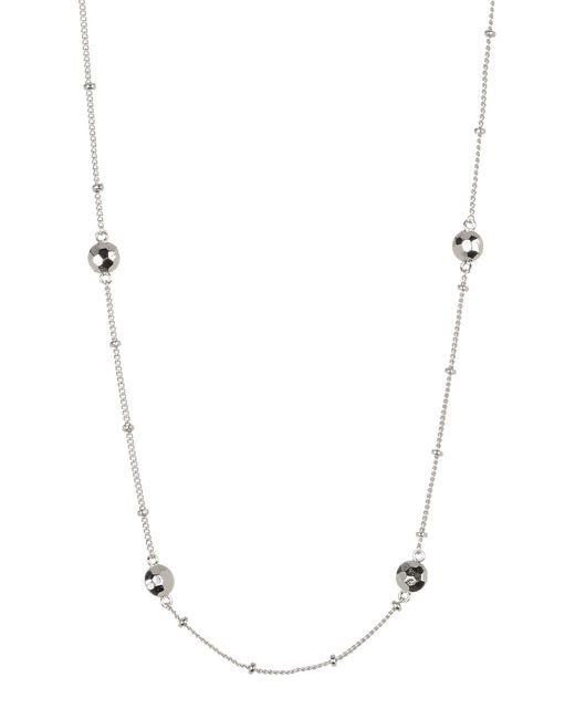 Gorjana | Metallic Marlow Beaded Station Necklace | Lyst
